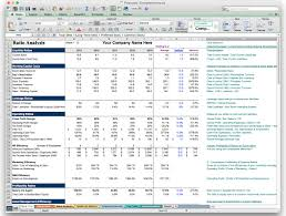 Business Plan Template In Excel by Business Plan Financials Template Excel