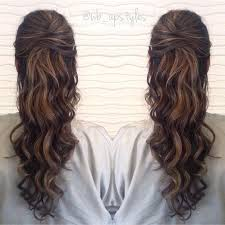 half up half down prom hairstyle we this moncheriprom com