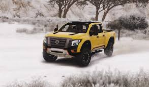 nissan truck titan nissan titan warrior 2017 add on replace livery extras