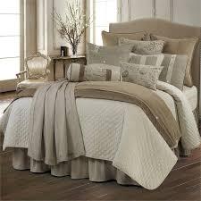 fairfield quilted linen 4pc comforter set