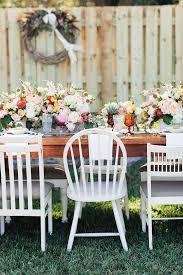 Bridal Shower Chair Backyard Brunch Bridal Shower 100 Layer Cake