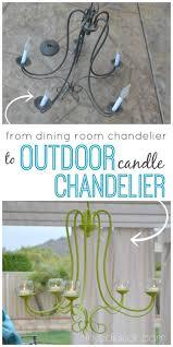 Outdoor Chandelier Diy Diy Outdoor Chandelier Outdoor Chandelier Outdoor Living Rooms