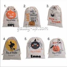 personalized trick or treat bags loot bags treat bags personalized