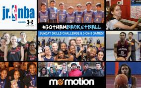 Challenge In Mo Mo Motion Gba To Host Sundays Jr Nba Skills Challenges 3 On 3