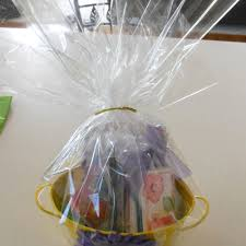 gift basket wrap new 30 100ft clear wrapping cellophane roll gift basket crafts