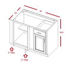 kitchen base cabinets size coffee glaze base blind cabinet solid wood soft rta
