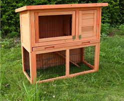 double decker wooden rabbit hutch pet care products