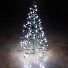 lovely ideas white wire tree prelit flocked artificial