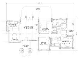 Post And Beam Floor Plans Truckee Log Post And Beam Plan