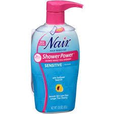 nair shower power sensitive formula 12 6 oz walmart com