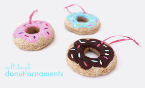 salt dough donut ornaments kassandra dekoning