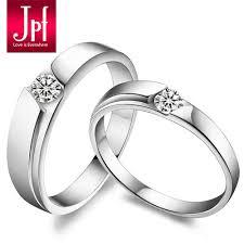 korean wedding rings jpf beautiful sterling silver wedding ring korean version of the