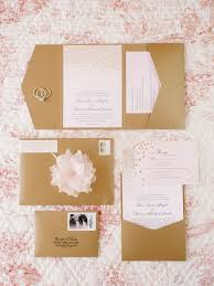 blush and gold wedding invitations and gold southern fairytale real wedding