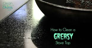 how to remove grease from the top of kitchen cabinets how to clean a greasy stove top clean chaos