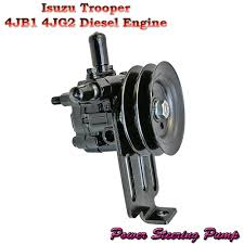 new power steering pump fits isuzu bighorn trooper jackaroo 2 8l