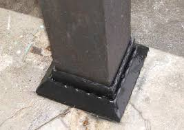 anchoring wood posts to concrete pirate4x4 com 4x4 and