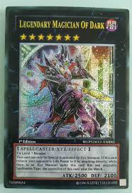 legendary magician of dark 5piece set yugioh secret rare