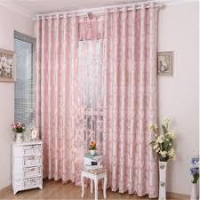 chambre fille style romantique romantique style couleur rideaux satin tissu pour fille chambre