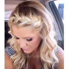 curl in front of hair pic best 25 front french braids ideas on pinterest braid front of