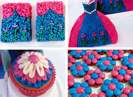 frozen anna party desserts two sisters crafting