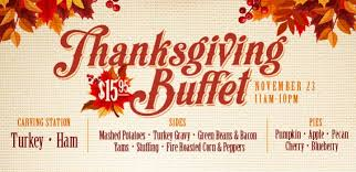 thanksgiving buffet feel the win prairie wind casino hotel