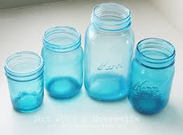 How To Use Mason Jars For Decorating Diy Glazed Jars Definitely Planning To Try This With Glass Soda