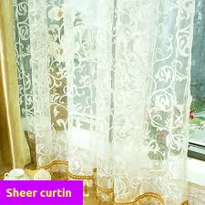 blackout gold fabric bedroom door net curtain design drape sheer