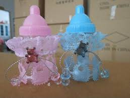 baby bottle favors new arrival baby shower favors milk bottle candy box with