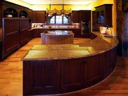Best 25 Curved Kitchen Island The Curved Kitchen Island The Great Combinations Between The
