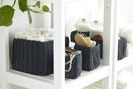 korb badezimmer badezimmer aufbewahrung korbe nordrana korb 4er set grau