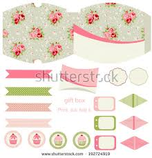 shabby chic business style background stock vector 251504755