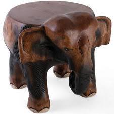 carved elephant table ebay