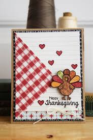 thanksgiving turkey card stamped thanksgiving cards stamp u0026 scrapbook expo