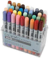 copic ciao double ended marker sets blick art materials