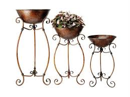 Wrought Iron Home Decor Plant Stand Astounding Outdoor Tiered Plant Stands Metal