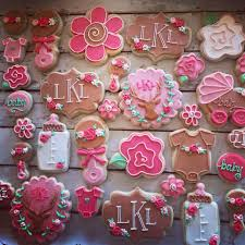 baby shower cookies girly rustic deer baby shower cookies mini hayley cakes and cookies