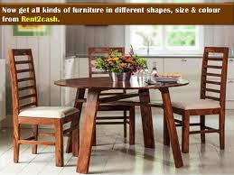 Wooden Chairs For Rent Furniture On Rent In Newtown Kolkata Furniture For Rent In Kolkata