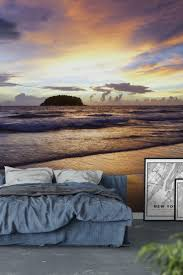 best 25 beach wall murals ideas on pinterest beach mural evening beach wall mural wallpaper