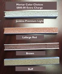 heritage home colors brick selections