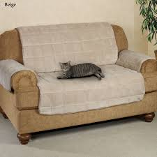 Bed Bath Beyond Pet Sofa Cover by Microplush Pet Furniture Covers With Longer Back Flap
