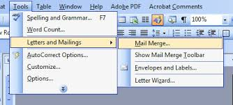 office 2013 mail merge how to print on envelopes