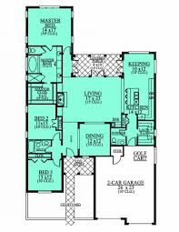 house plans 4 bedroom 3 bath floor 2 split plan planskill 4