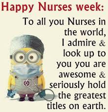 Happy Nurses Week Meme - happy nurses week everyone allnurses