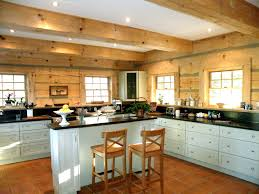 Log Cabin Kitchen Ideas Elegant And Peaceful Log Home Kitchen Design Log Home Kitchen