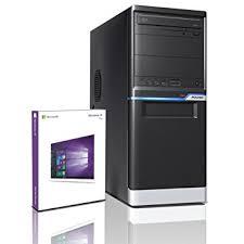 ordinateur de bureau gaming shinobee pc gamer multimédia unité centrale pour ordinateur de
