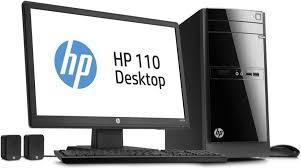 Desk Top Computer Reviews Amazon Com Hp 110 243wb Desktop Computers U0026 Accessories
