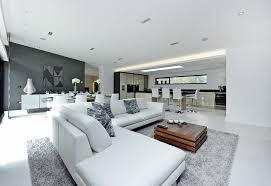 Houzz Living Room Contemporary Living Room Contemporary With - Contemporary fitted living room furniture