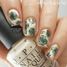 20 flower nail art ideas floral manicures for spring and summer