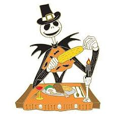 thanksgiving pins skellington as a pilgrim corn at thanksgiving pin from