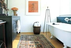 Rug In Bathroom Bathroom Rug Runner Simpletask Club